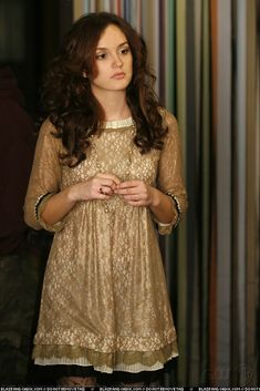 Gossip Girl = a mixture of lusting after the pretty clothes and being glad normal girls don't dress like this in every day life. It would be exhausting.