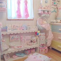 Adorable kawaii girls room