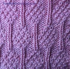 Ashberry knitting stitches