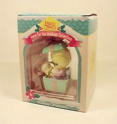 Precious Moments 1995 Christmas Ornament Home For The Holidays Holiday