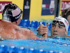 Blog Esportivo do Suíço:  Phelps bate Lochte, é ouro e vai tentar tetra inédito dos 200m medley no Rio