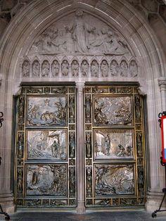 Financial District Church Door, NYC