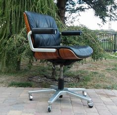 Modern Desk Chair, Best Office Chair, Eames, Home Office, Chairs, Industrial, Lounge, Interior, Room