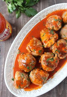 Cheesy Buffalo Sausage Meatballs Slow Cooker Appetizers, Slow Cooker Recipes, Crockpot Recipes, Cooking Recipes, Meatball Appetizers, Crockpot Dishes, Meatball Recipes, Beef Dishes, Turkey Recipes