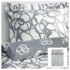 KLÄNGLILJA Duvet cover and pillowcase(s) - Full/Queen - IKEA