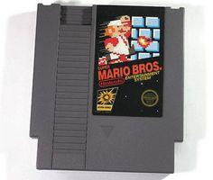 Super Mario Bros Nintendo NES 1985 Retro Video Game by Retro8Games