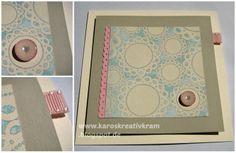 Karos Kreativ Kram: 3 romantische Doilie & Herz Karten
