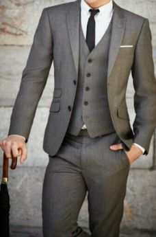 The Perfect #Suit Fit Guide for a Modern Man. Including single breasted, double breasted and three piece suit