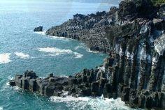 Jusangjeolli Cliff, Jeju Island, South Korea