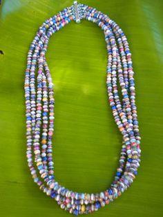 Magazine beads :)