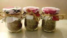 Bylinková sůl s libečkem (recept) - koření do polévek a salátů Korn, Pesto, Mason Jars, Mason Jar, Glass Jars, Jars