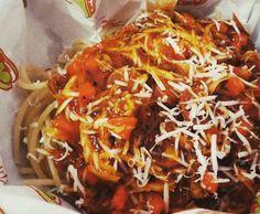 MENU BARU SPAGHETTI Chicken Spaghetti Sasuge Harga promo hanya Rp.16.000  Only Take Away (Bungkus) Delivery (Antar ke Rumah)  0852 63 666006