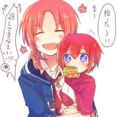 Kamui and Kagura