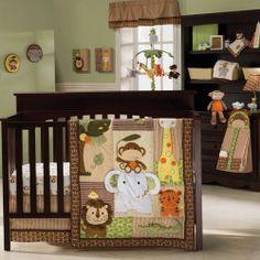 29 Ideas baby room boy jungle crib bedding sets for 2019 Jungle Theme Nursery, Baby Boy Nursery Themes, Giraffe Nursery, Baby Boy Rooms, Baby Boy Nurseries, Nursery Ideas, Jungle Safari, Themed Nursery, Alligator Nursery