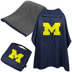 I know, I know, Nobody wants rain on game day.... but you better be prepared, it is Michigan after all!#UltimateTailgate #Fanatics