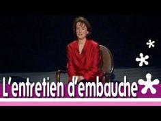 Videos humour et FLE Anne Roumanoff : réussir son entretien d'embauche !