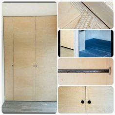 Customfit wardrobe. Made together with I design. #plywood #wardrobe #garderobe # kryssfiner #interiør #interiørinspirasjon #interior #interiordesign #integrert #møbeldesign #møbler #møbelsnekker #oslo #instalike #instaphoto