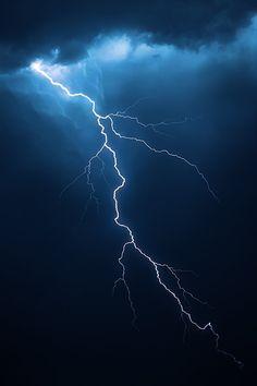 lmmortalgod:  Lightning with dramatic cloudscapebyJohan Swanepoel