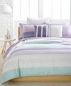 CLOSEOUT! Lacoste Grenelle Comforter and Duvet Cover Sets - Bedding Collections - Bed & Bath - Macy's