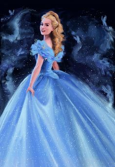 Lily James as CINDERELLA 2015 (2) by DylanBonner on DeviantArt