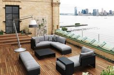 Genial Patio Furniture And Rooftop Design   In Case We Ever Move