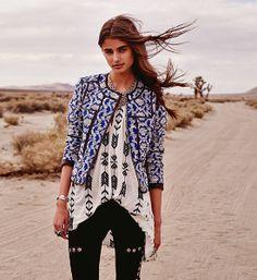 Shopbop Global Boho Lookbook esta weno la ropa q viste la chikilla