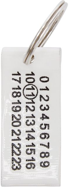 Maison Martin Margiela - White Logo Keychain