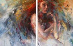 "Saatchi Art Artist Evelyn Hamilton; Painting, ""C'est ma vie"" #art"