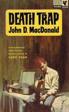 John D. MacDonald - Death Trap, Pan Books, 1958