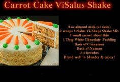 Visalus protein shake recipes