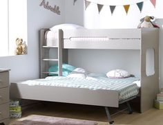 Adult Loft Bed, Adult Bunk Beds, Kid Beds, Bunk Beds With Stairs, Small Room Bedroom, Kids Bedroom, Bedroom Decor, Attic Bed, Home Decor