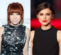 Carly Rae Jepsen and Kiera Knightly -- Can You Believe These Celebs are the Same Age?