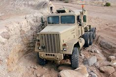 This 1980 AM General is a Army truck that serves not only as a street and trail machine, but also a great tow vehicle! Check it out inside Four Wheeler Magazine. Air Seat, 4x4 Trucks, Semi Trucks, Four Wheelers, Army Vehicles, Heavy Truck, Expedition Vehicle, Heavy Equipment, Rear View