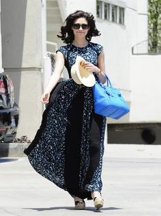 Emmy Rossum's Breezy Summer Dress