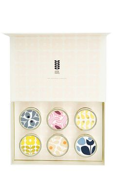 Orla Kiely Mini Candle Gift Set ($44)