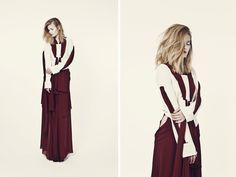 clothes : jean delvallee ;  julia aymerich pic: quentin legallo model: mylène manin  muah: mikael knafo jobs; maud eigenheer