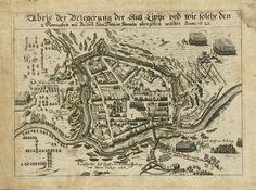 Abris der Belegerung der Statt Lippe (1623)