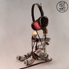 This little guy is all caught up in his thoughts and funky grooves. So, whenever he finds the perfect balance, he lights up gently and wants to be 'Tied Up' there forever. Fire Works, Tied Up, Light Up, Objects, Guy, Thoughts, Studio, Collection, Studios