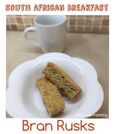 South African Breakfast Bran Rusks - Teach Me Mommy - RUTH CELE - South African Breakfast Bran Rusks - Teach Me Mommy South Africans like to eat Bran Rusks as breakfast with a cup of tea or coffee. The South African biscotti! South African Dishes, South African Recipes, Breakfast Bake, Breakfast Recipes, Snack Recipes, Rusk Recipe, All Bran, Buttermilk Recipes, Dutch Oven Recipes