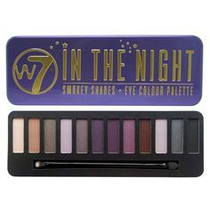 W7 - In The Night palette
