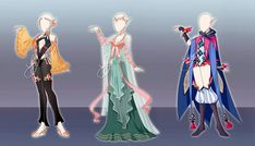 (Open) Outfit design adoptables - Auction 21 by fantazyme on DeviantArt