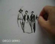 DIEGO SIERRO nuevos dibujos directos - YouTube
