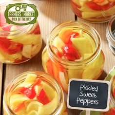 Pickled Sweet Peppers Recipe from Taste of Home