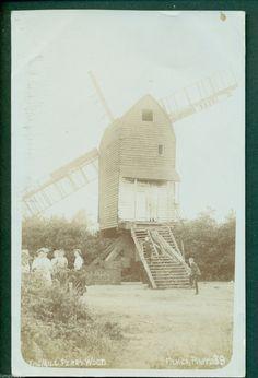 SELLING,PERRY WOOD WINDMILL,FILMER 39,vintage postcard. | eBay