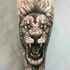 Lion Tattoo 97