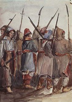 The Warrior unit (irregular militia) in Civ V. Untrained, minimal discipline but all that is available at the start of history. Good for keeping ferocious animals at bay but not much else. Canadian History, American Soldiers, Canada, 17th Century, Patriots, Old World, Knight, Old Things, The Unit