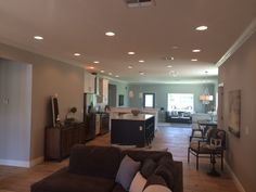 Perfect great room.. open but a space for each function. #theinvestorhub #inspiration #phoenix #lasvegas #livingspaces