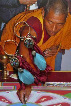 créoles nomades Tibétaines mandala   Pierres de par FUJIGIRLS
