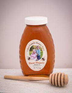 Raw Vermont wildflower honey raw honey by FaheyFamilyHoneyFarm