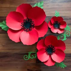 SVG DXF PNG Petal 60 Poppy Paper Flowers Template Cricut Silhouette Cutting Machines Ready Wedding and Event Decor and Paper Flower Backdrop - DIY Blumen Paper Flower Backdrop, Giant Paper Flowers, Diy Flowers, Flower Petals, Paper Flowers Wedding, Flower Svg, Diy Paper, Paper Crafts, Diy Crafts